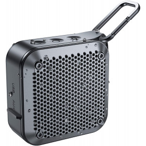 IPX7 Bluetooth Speaker, Portable Bluetooth Speaker with Loud HD Audio and Rich Bass, Mini Speaker, Built-in Mic, True Wireless Stereo, 12H Playtime, for iPhone, Samsung, iPad, MacBook and More
