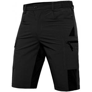 Hiauspor MTB Shorts Mountain Bike Shorts for Men