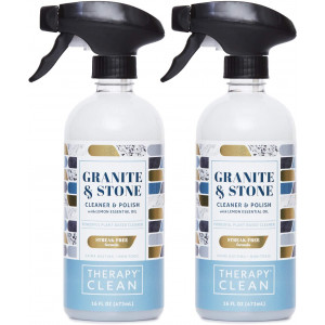 Therapy Premium Granite Cleaner + Polish 16 oz. (2 Pack)