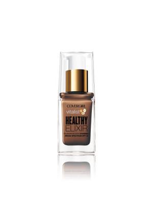 COVERGIRL Vitalist Healthy Elixir Foundation, Nude Beige, 1 fl oz (30 ml)