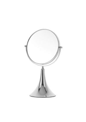 Danielle Small Trumpet Vanity 5x Mirror, Chrome