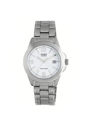 Casio Men's Silver Dial Watch, Stainless Steel Bracelet