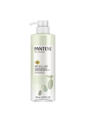 Pantene Pro-V Blends Micellar Shampoo with Aloe Gentle Cleansing Water, 17.9 fl oz