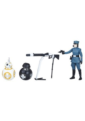 Star Wars Force Link 2.0 Rose (First Order Disguise), BB-8, and BB-9E Pack