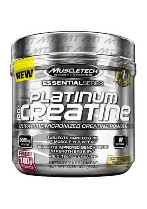 MuscleTech Platinum 100% Creatine Powder, 80 Servings
