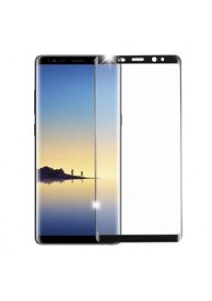 Black Tempered Glass Screen Protector For Samsung Galaxy Note 8 Phone