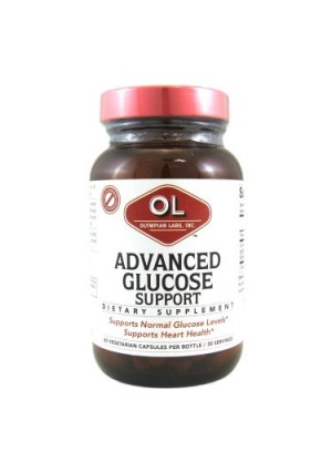 Olympian Labs Advanced Glucose Support Capsules, 60 Ct
