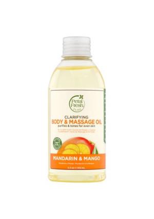 Petal Fresh Pure Mandarin & Mango Clarifying Body & Massage Oil, 5.5 oz