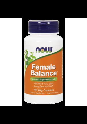 NOW Female Balance Vegetarian Capsules, 90 Ct