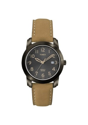 Timex Men's Highland Street Watch, Tan Leather Strap