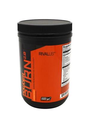 Rivalus Powder Burn 2.0 Pre-Workout - Orange, 403g