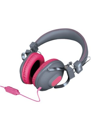 dreamGEAR DGHM-5520 HM-260 Headphones with Microphone (Pink)