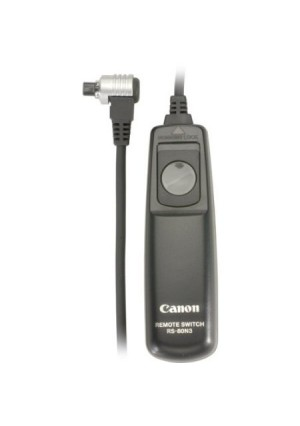 Canon RS-80N3 Remote Switch for EOS-1V/1VHS, EOS-3, EOS-D2000, D30, D60, 1D, 1Ds, EOS-1D Mark II,III, EOS-1Ds Mark II,III, EOS-10D, 20D, 30D,40D, 50D