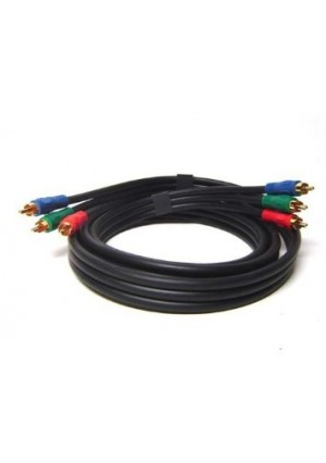 New Gold Plated 12Ft 3 RCA Component Video Cable FOR HDTV DVD VCR