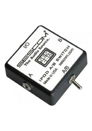 Sescom SES-IPOD-AB iPod Stereo Audio MP3 FLAC WMA Player A/B Switch 3.5mm (1/8)