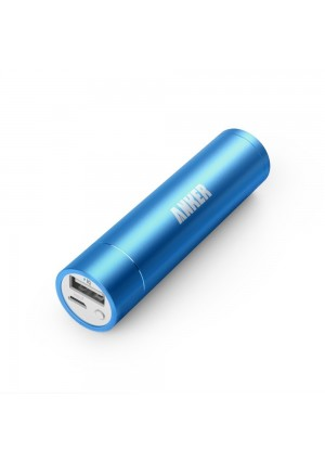 Anker 2nd Gen Astro Mini 3200mAh Lipstick-Sized Portable Charger External Battery Power Bank with PowerIQ Technology for iPhone 6 Plus 5S 5C 5 4S, iP