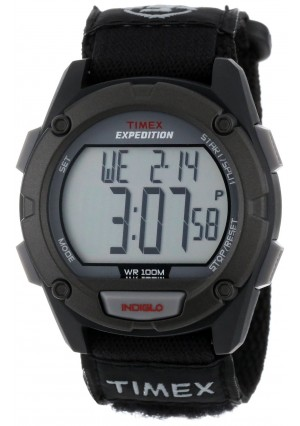 """Timex Men's T499499J """"Expedition""""  Resin Digital Watch with Black Nylon Band"""
