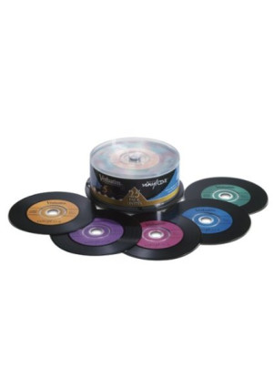 Verbatim Digital Vinyl 700 MB Multicolor CD-R Spindle 25 Discs 94488