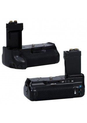 Neewer BG-E8 Replacement Battery Grip for Canon EOS 550D 600D 700D/ Rebel T2i T3i T5i SLR