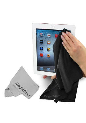 (Jumbo Screen Pack) The Amazing MagicFiber - Premium Microfiber Cleaning Cloths - Extra Large Cloths Specially Designed for Larger Screens - LCD, LED