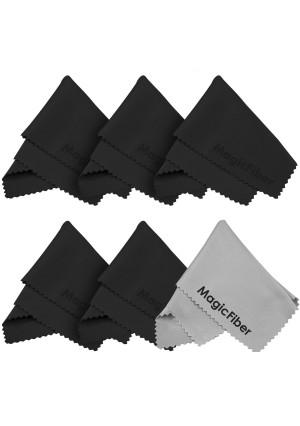 (6 Pack) The Amazing MagicFiber - Premium Microfiber Cleaning Cloths - For Screens, Lenses, Glasses, iPad, Galaxy Tab, Sony, Nexus, Chromo, Surface T