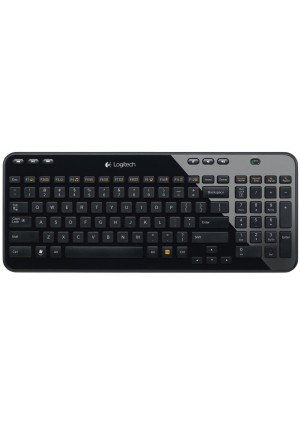 Logitech Wireless Keyboard K360 - Glossy Black