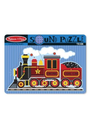 Melissa and Doug Train Sound Puzzle