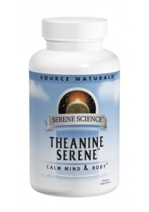 Source Naturals Theanine Serene, 120 Tablets