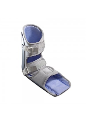 Nice Stretch 90 Patented Plantar Fasciitis Night Splint with Cold Therapy and Non-Skid Sole, Large/XL