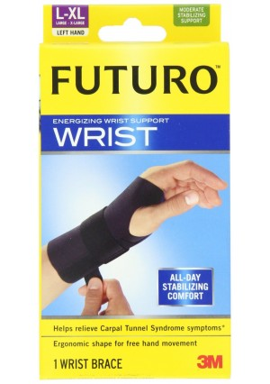 Futuro Energizing Wrist Support, Left Hand, Large/Extra-Large