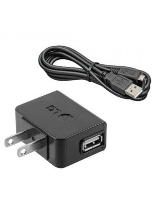 LG OEM AC Wall Charger Adapter with Micro USB Cable for LG G Flex 2, G Flex, Google Nexus 4, G3 Vigor, G Pro Lite