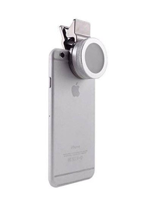 D & K Exclusives Universal Clip-On Mini LED Light Portable Pocket Spotlight for iPhone