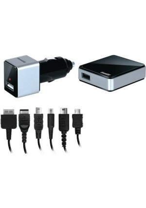 dreamGEAR Universal USB Power Kit Pro for PS Vita, PSP, DS Lite, DSi, DSi XL, 3DS, 3DS XL, iPad, iPhone, iPod, Android, and most USB devices