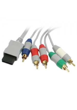 Gino RCA YPbPr Audio Video AV Component Cable 1.7M for Nintendo Wii