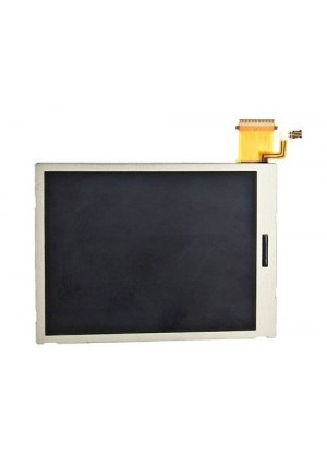 Replacement Bottom LCD Screen for Nintendo 3DS (Silver)