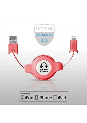 Gear Beast Retractable iPhone Cable
