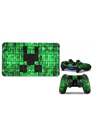 Arrela Green world Fashionable Sticker Decal for PS 4 Controller