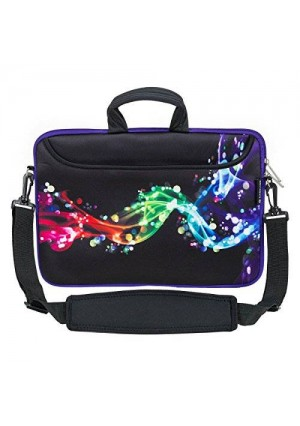 Caseling 13 - 13.3 inch Laptop Computer Neoprene Sleeve Carrying Case Bag with Handle