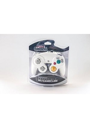 Old Skool GameCube / Wii Compatible Controller - white