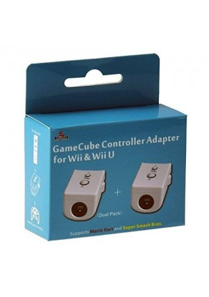 Mayflash GameCube Controller Adapter for Wii and Wii U (Dual Pack)