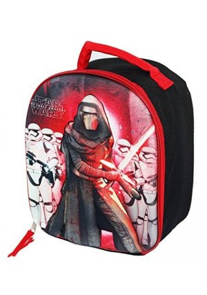 """Star Wars EP7 """"Kylo"""" Dome Shaped Lunch Bag With Molded Front"""