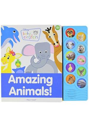 ltd. publications international Disney Baby Einstein Amazing Animals Play-a-sound