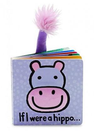 Jellycat Board Books, If I Were a Hippo