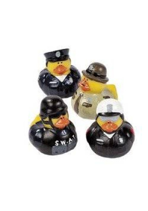 12 Law Enforcement Rubber Ducks