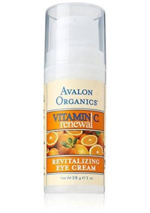 Avalon Organics Vitamin C Revitalizing Eye Creme, 1 Ounce Bottle