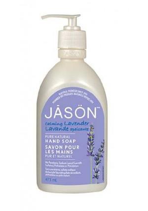 Jason Natural Jason Pure Natural Hand Soap, Calming Lavender, 16 Ounce
