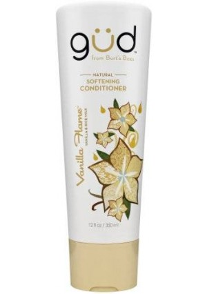 Gud Vanilla Flame Natural Softening Conditioner, 12 Fluid Ounce