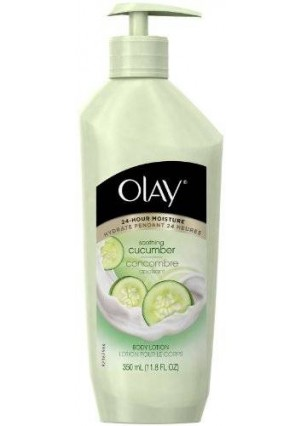 Olay Soothing Cucumber Body Lotion 11.8 Fl Oz