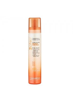 Giovanni 2chic Ultra-Volume Big Body Hair Spray with Tangerine and Papaya Butter, 5 Fluid Ounce