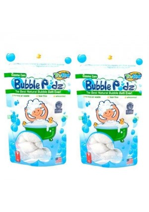 TruKid Eczema Care Bubble Podz - 2 Pack (Formerly known as Bath Blasts)
